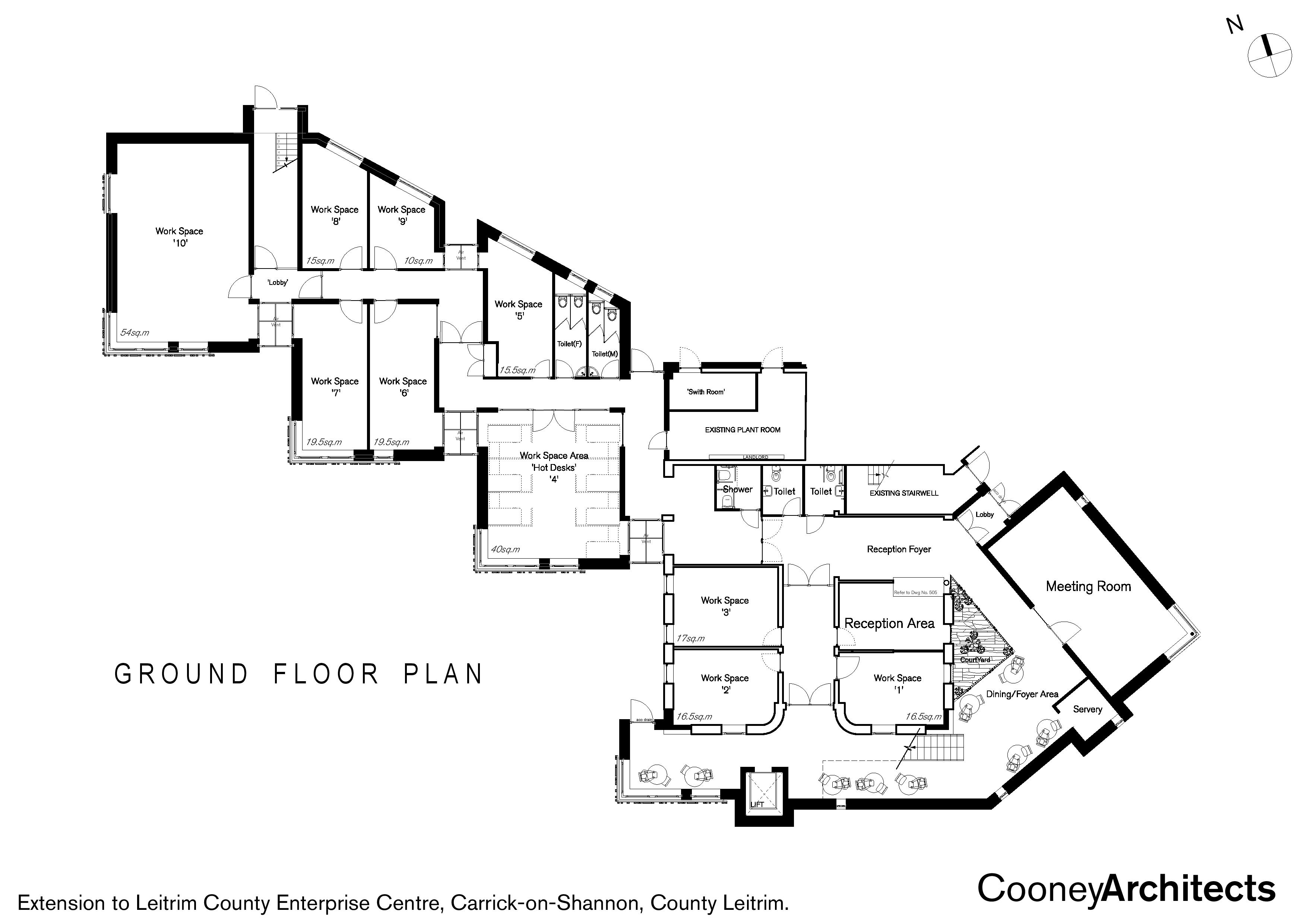 Ground Floor Plans for Innovation Centre